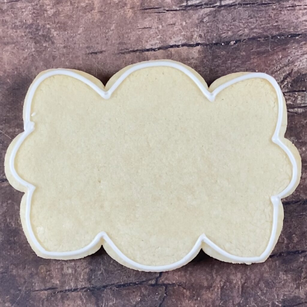 Outline cookie
