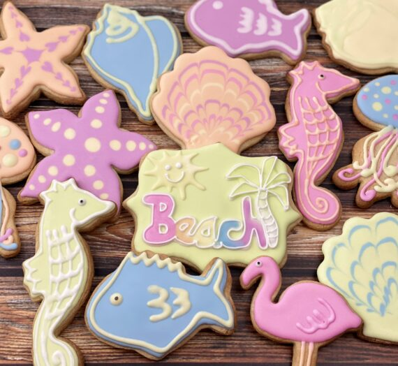Summertime Beach Cookies!