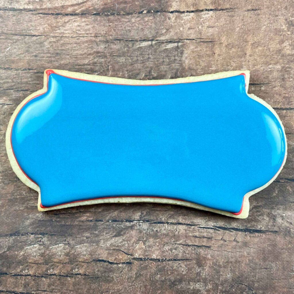 Fill plaque cookie marine birthday