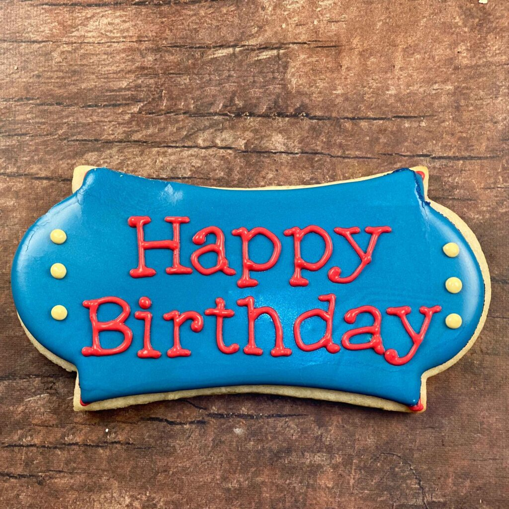 Add details for 21st Birthday Marine Cookies