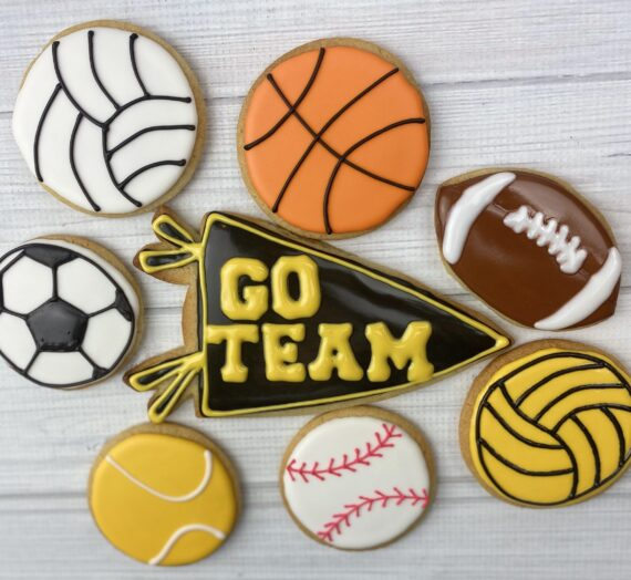 Go Team Sports Cookies