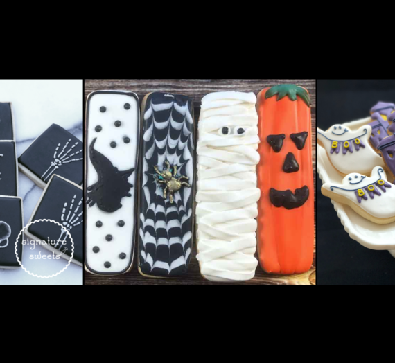 Throwback Halloween Cookies
