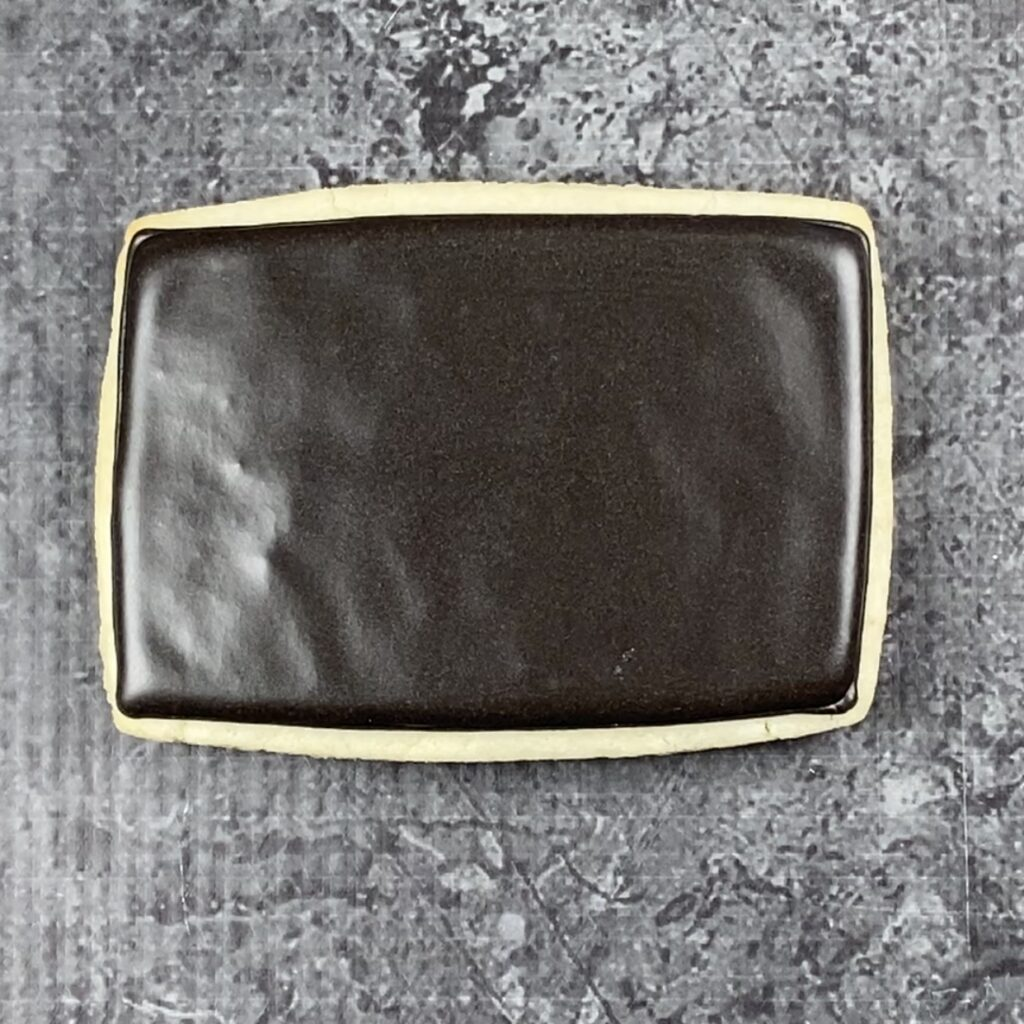 Flood rectangle for Friday Night Lights Cookies