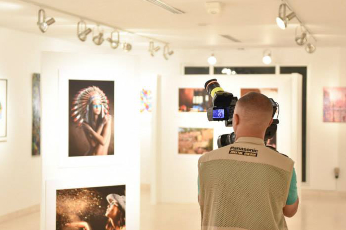 Edição de 2014 da expoisção Brazilian Eyes. | Foto: Acontecendo Magazine/Divulgação