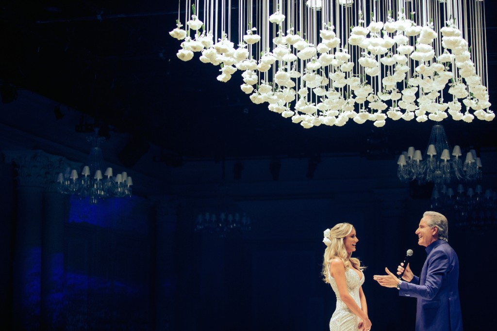 Roberto Justos e Ana Paula Siebert em seu casamento.   Foto: Primo Tacca Neto
