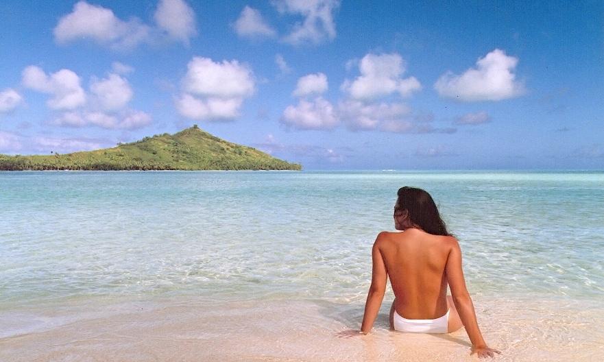 Jennifer in Paradise, a primeira foto editada no Photoshop, de John Knoll.