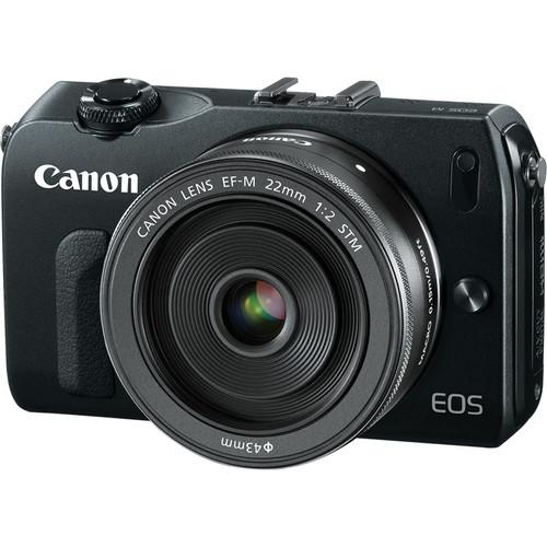 A primeira mirrorless da Canon, EOS-M.