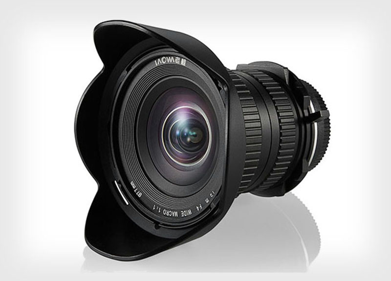 A lente Laowa 15mm f/4 da Venus Optics