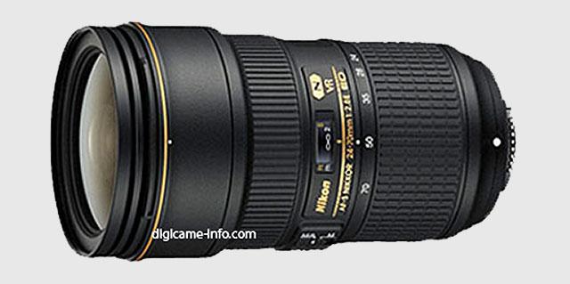 A nova 24-70 da Nikon.