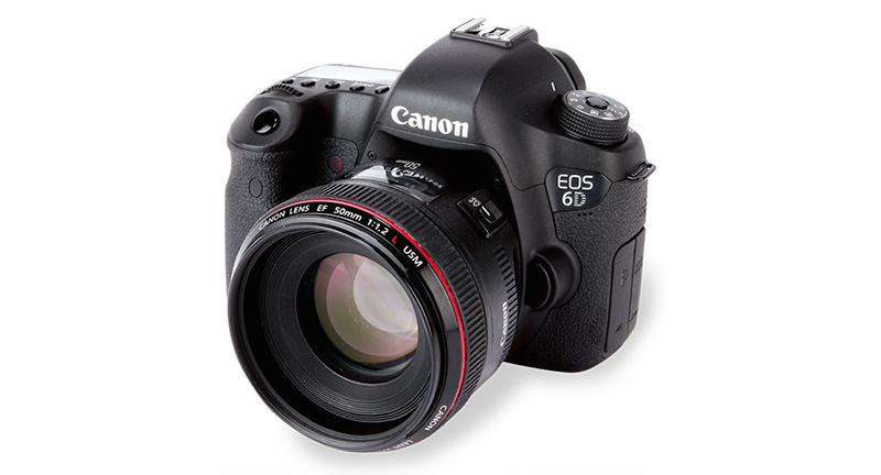 A atual Canon 6D