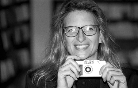 A fotógrafa Annie Leibovitz