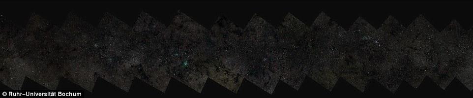 A imagem completa, navegável através do site http://astro.vm.rub.de/