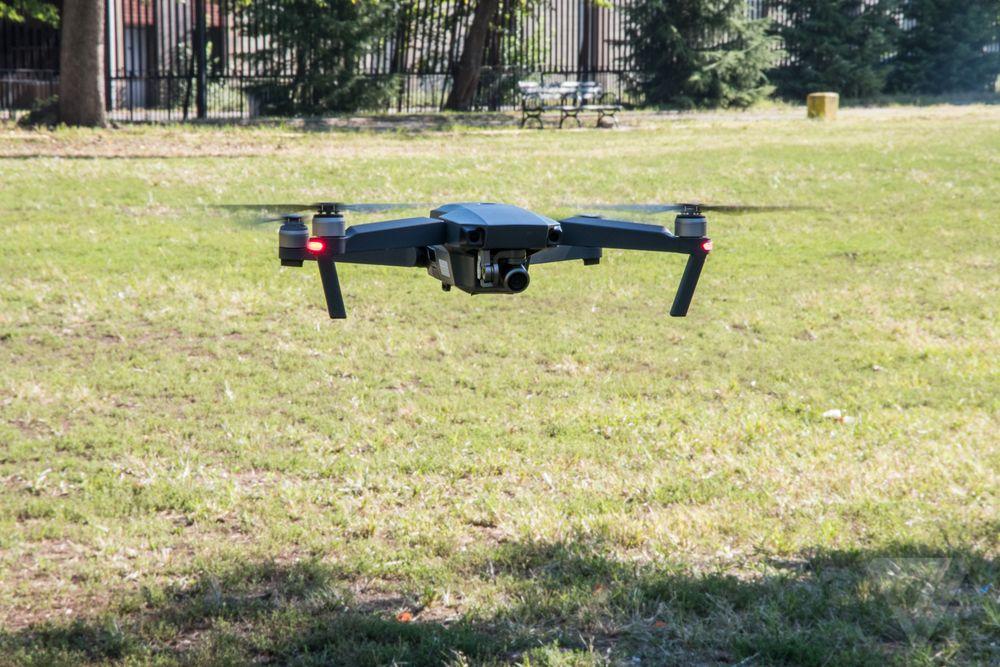 O drone em pleno voo   Foto: The Verge