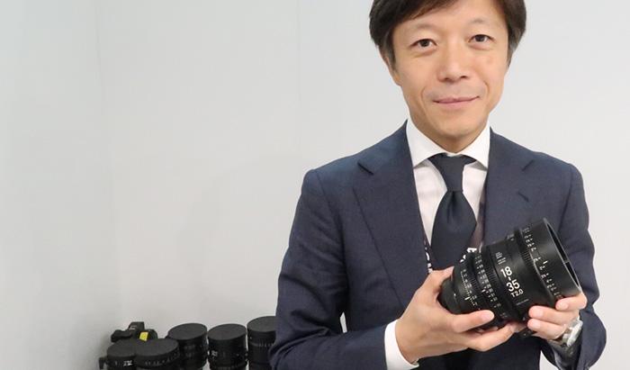 O presidente da Sigma, Kazuto Yamaki.