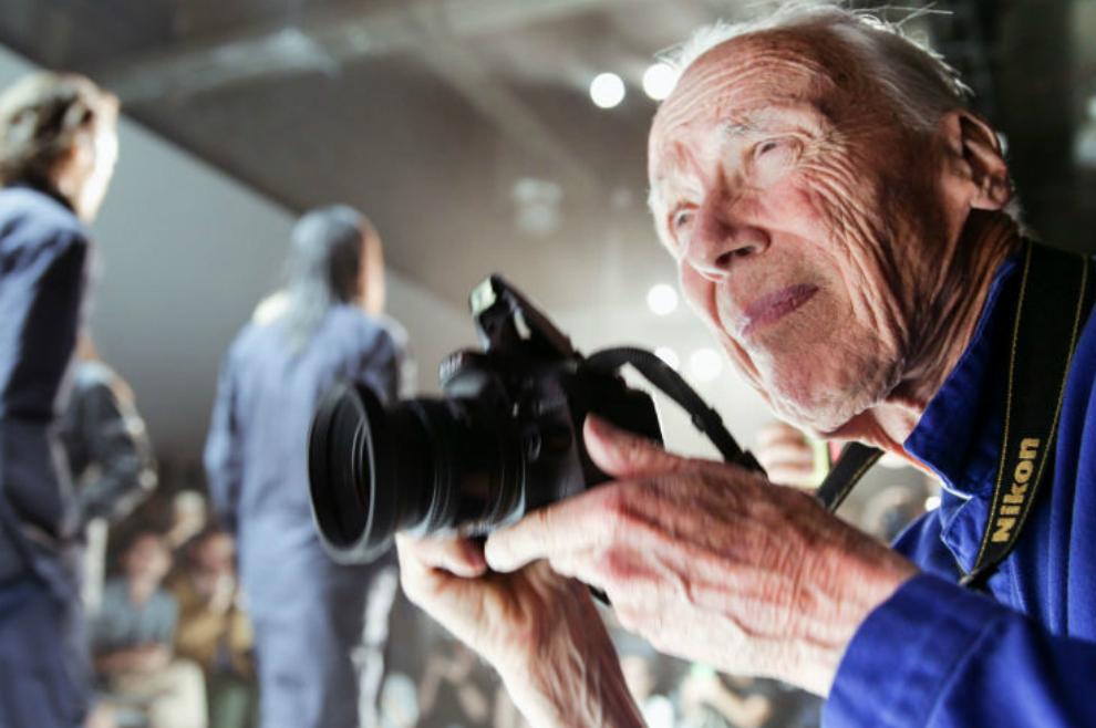 O fotógrafo Bill Cunningham