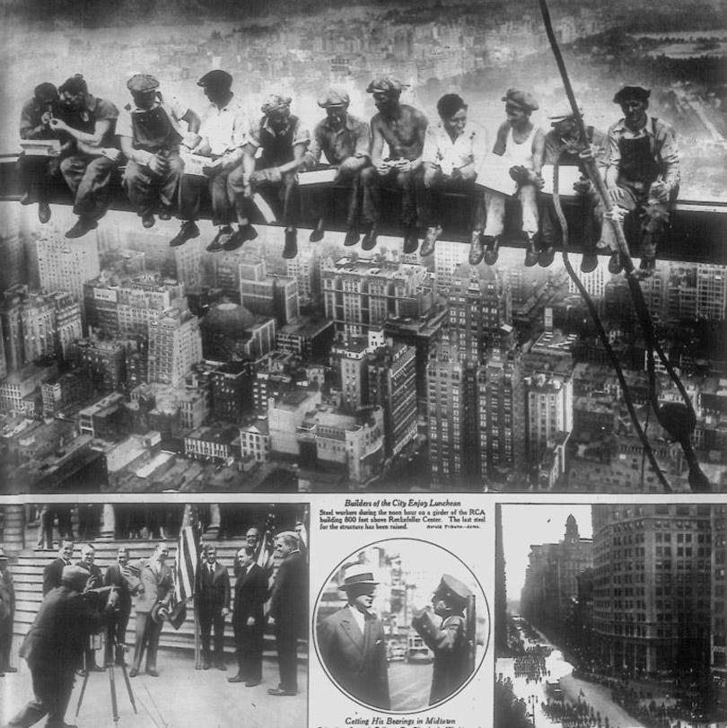 A foto no New York Herald Tribune