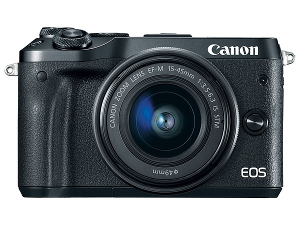 A Canon M6, mirrorless com sensor APS da Canon