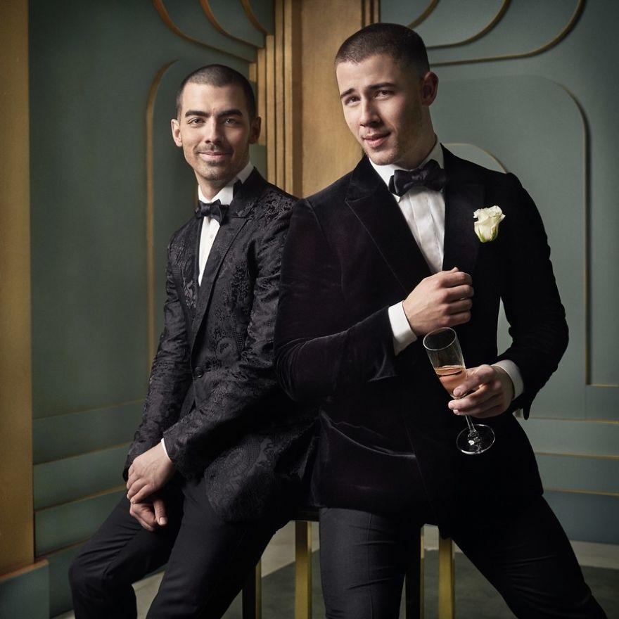 Joe e Nick Jonas   Foto: Mark Seliger