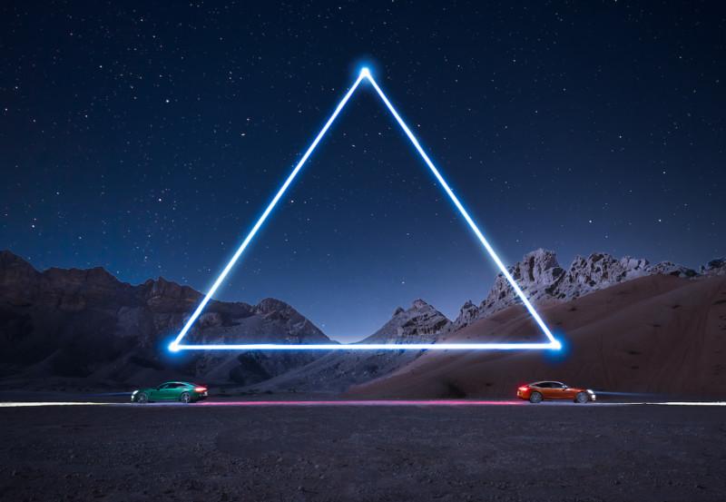 light painting com drones