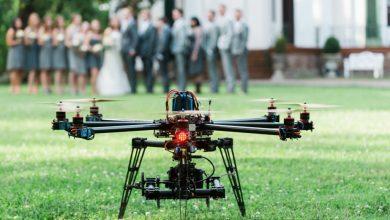 gravação de casamento com drone