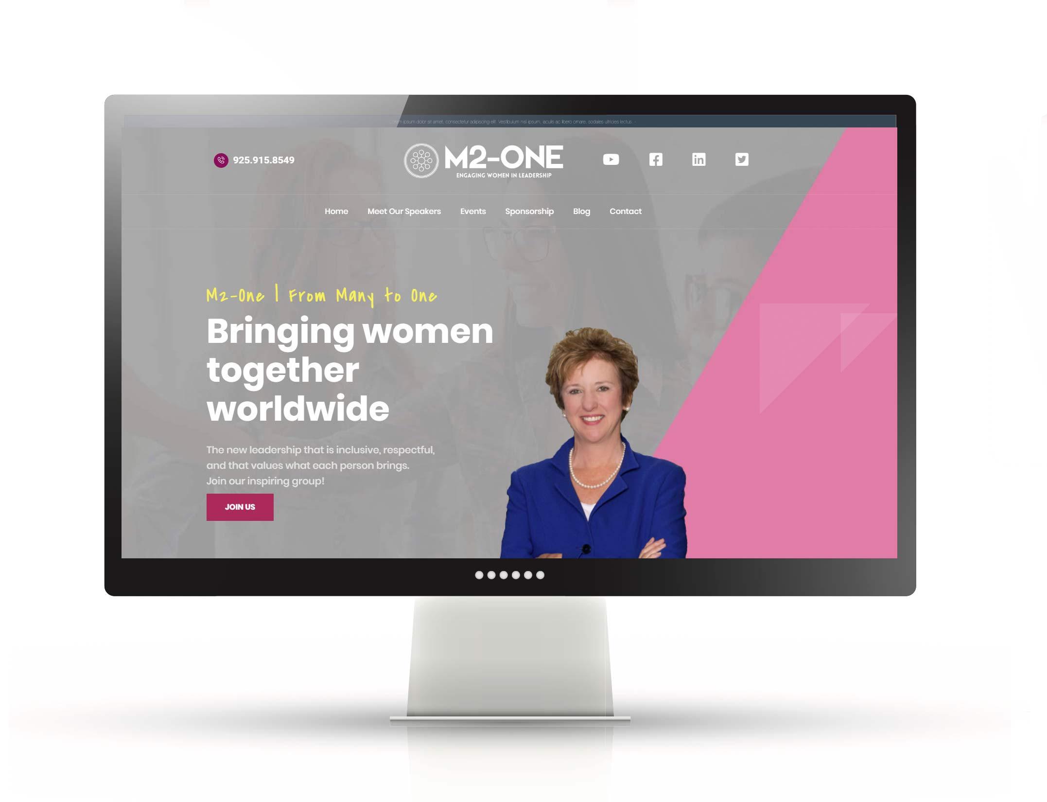 Full Custom Website Design – M2-One
