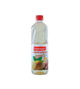 fruitomans ginger lemon squash