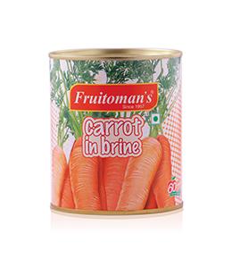 fruitomans carrot in brine