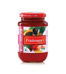 fruitomans mixed fruit jam