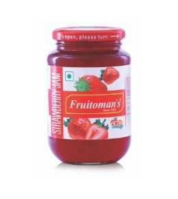 fruitomans strawberry Jam