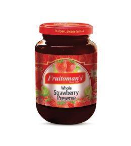 fruitomans whole strawberry preserve
