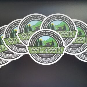 WC4WD Window Decals