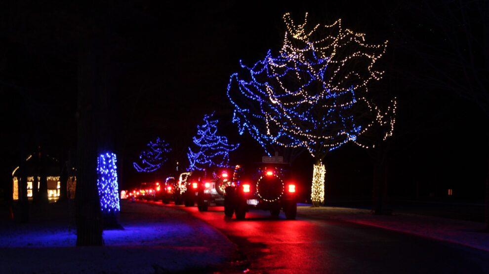WC4WD's 2021 Holiday Night Light Ride!