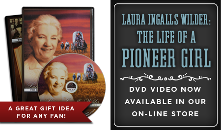 LAURA INGALLS  WILDER: THE LIFE OF A PIONEER GIRL DVD VIDEO