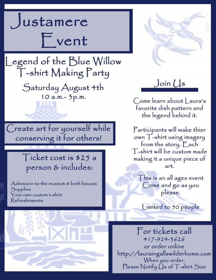Justamere Event T-Shirt Making Party