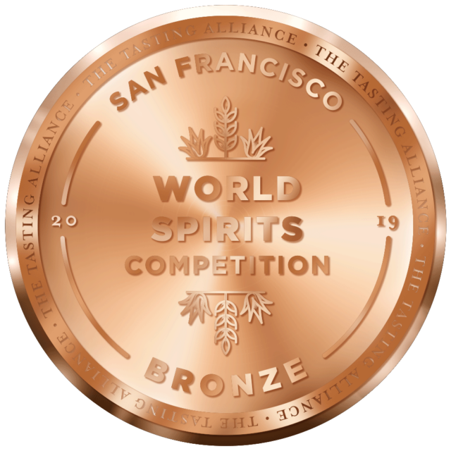 World Spirits Competition 2019 Bronze Medal