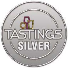Tastings Award - Silver Medal