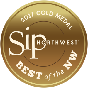 2017 SIP Northwest Best of the Northwest - Gold Medal