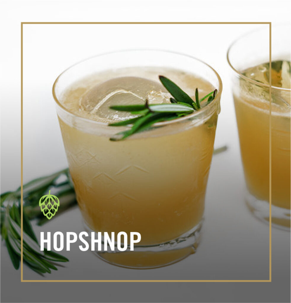 Hopshnop Cocktails - Whistling Andy Distillery