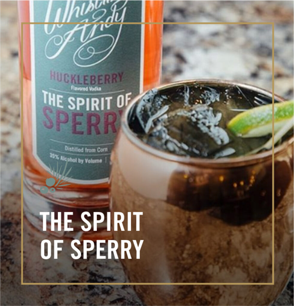 The Spirit of Sperry Cocktails - Whistling Andy Distillery