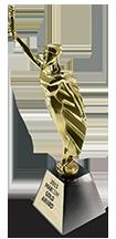 2013 Gold Statuette