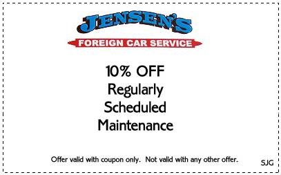 Jensen's Foreign Car Service