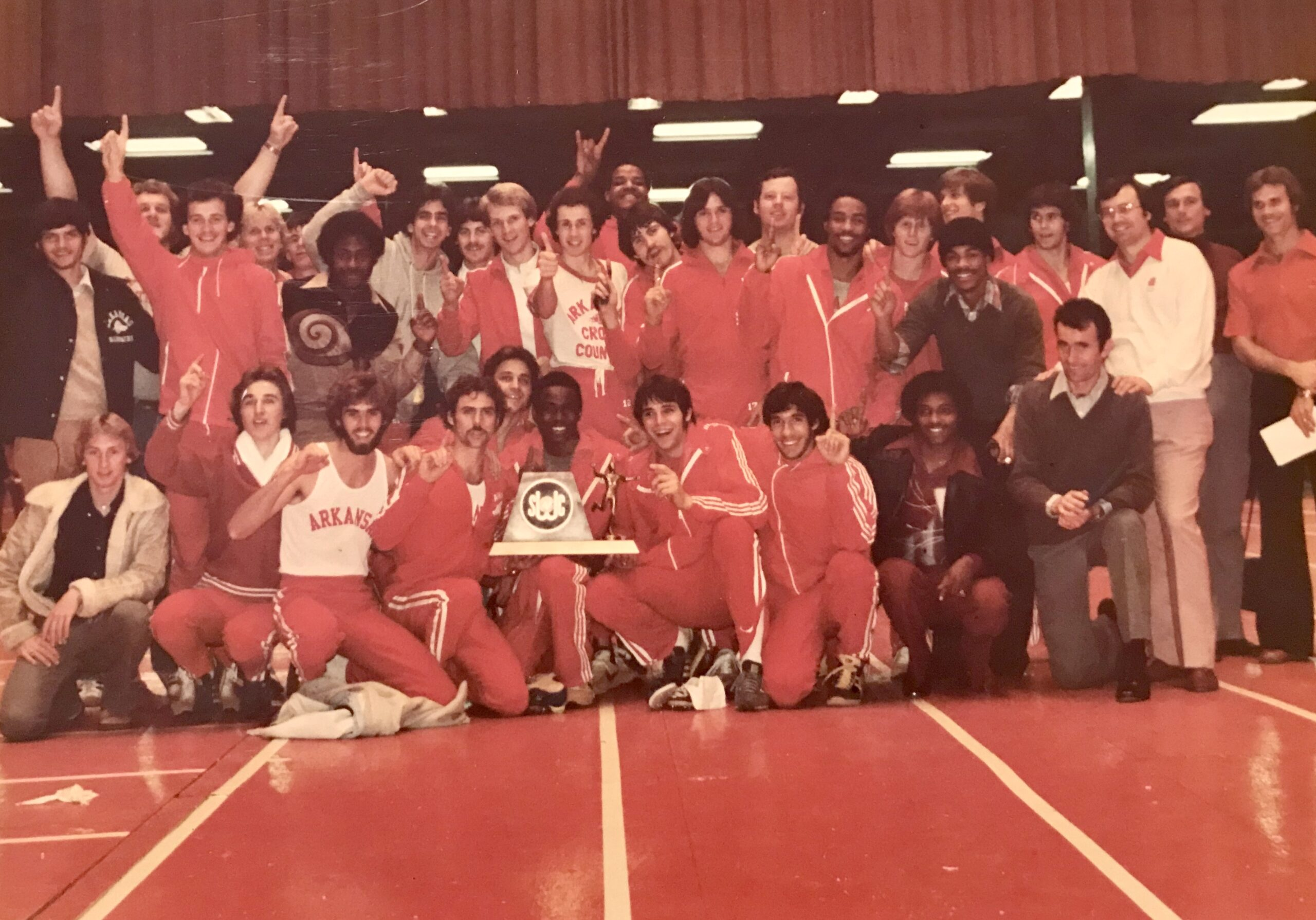1979 SWC Indoor - First Conference Track Title