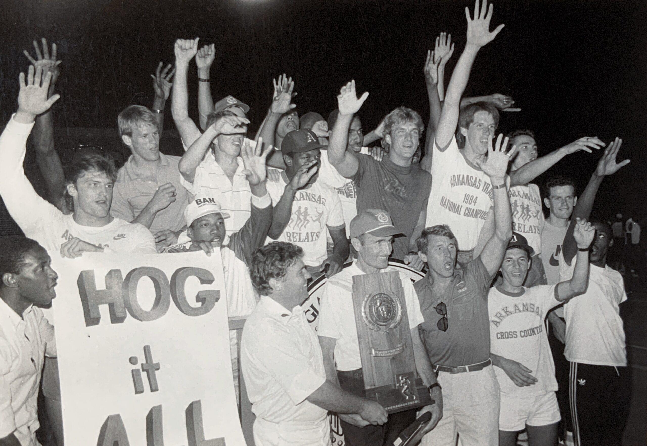 1985 NCAA Outdoor - First NCAA Outdoor & Triple Crown
