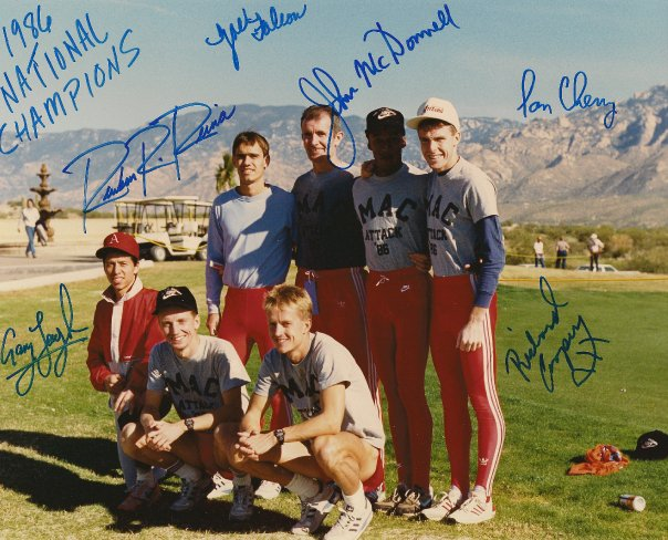 1986 NCAA XC Champs