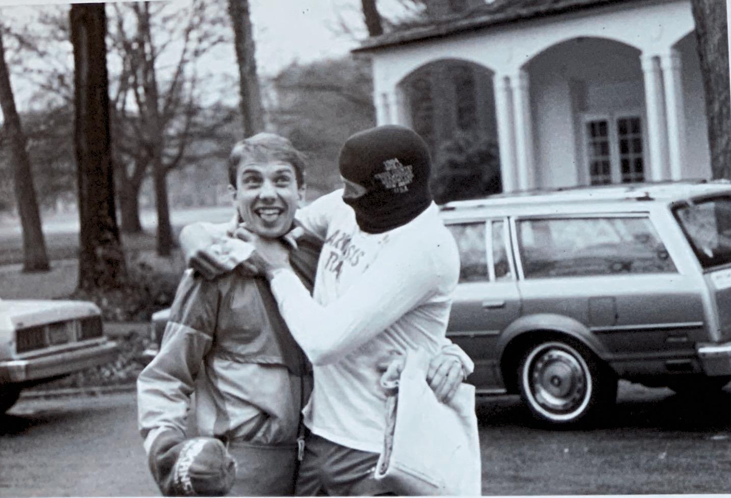 Coach Williamson & Gary Taylor