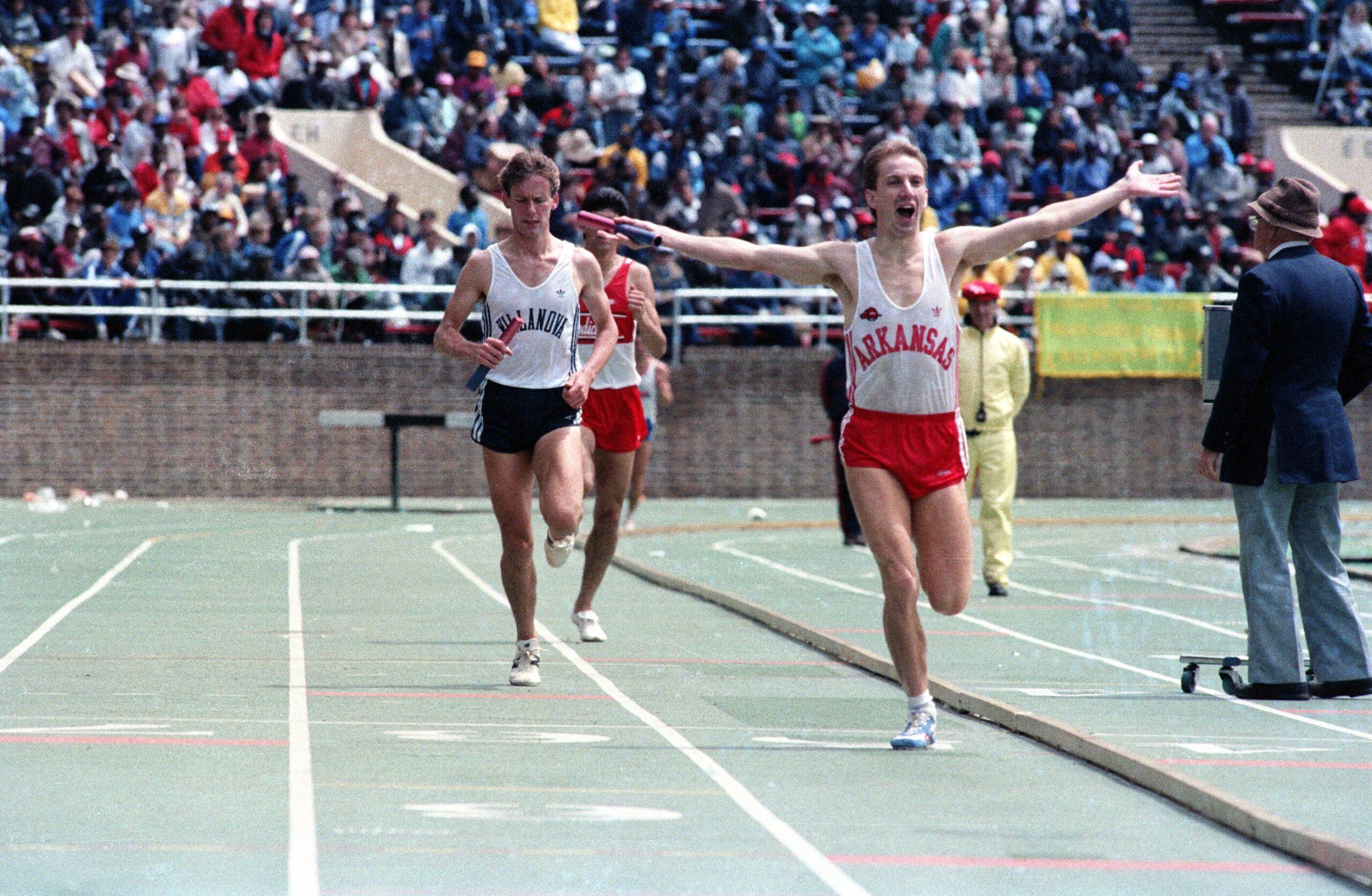 Penn 1987 - Winning the 4x1500