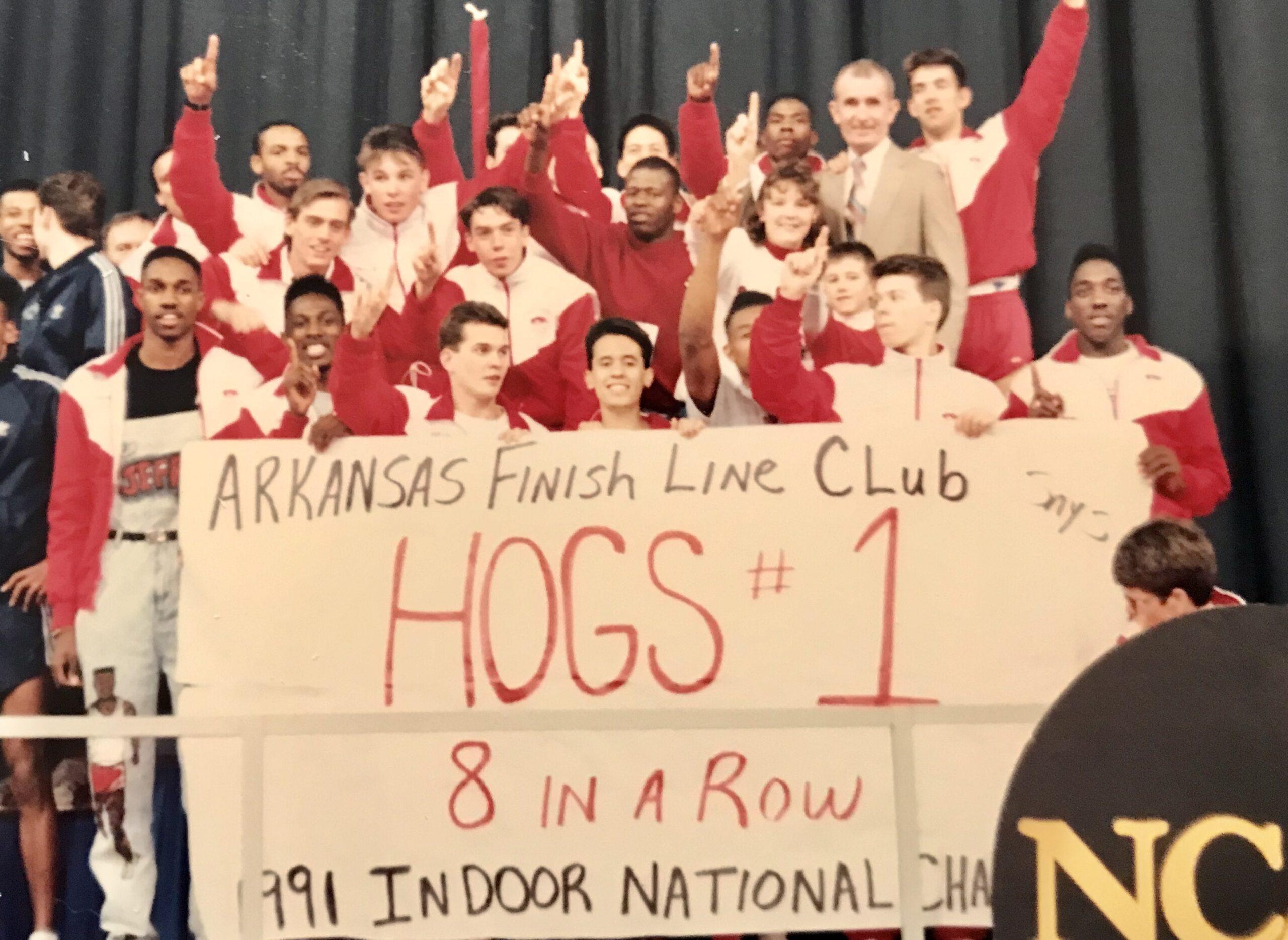 1991 NCAA Indoor - 8 in a row