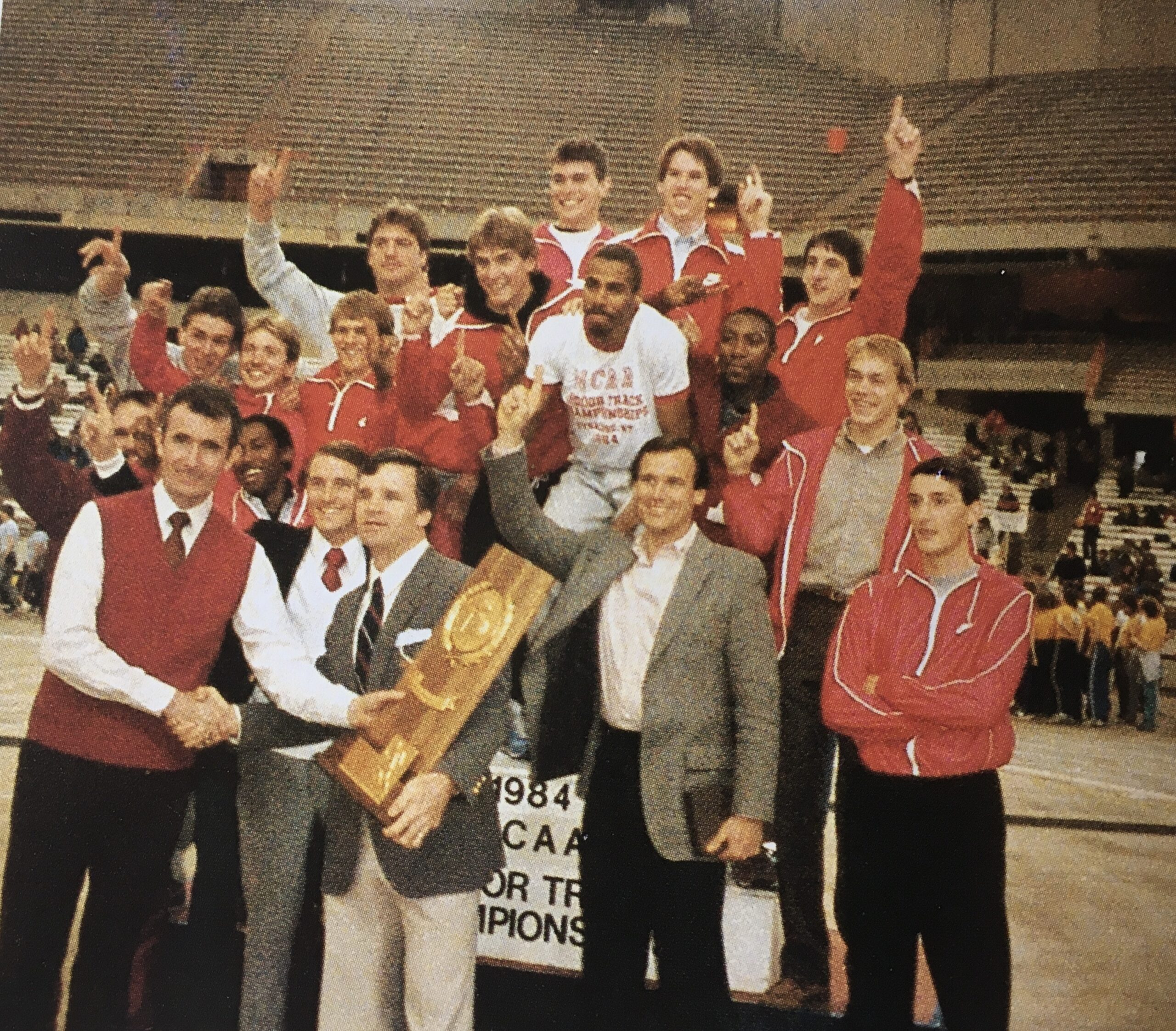 THE VERY FIRST NCAA TITLE - 1984 INDOORS