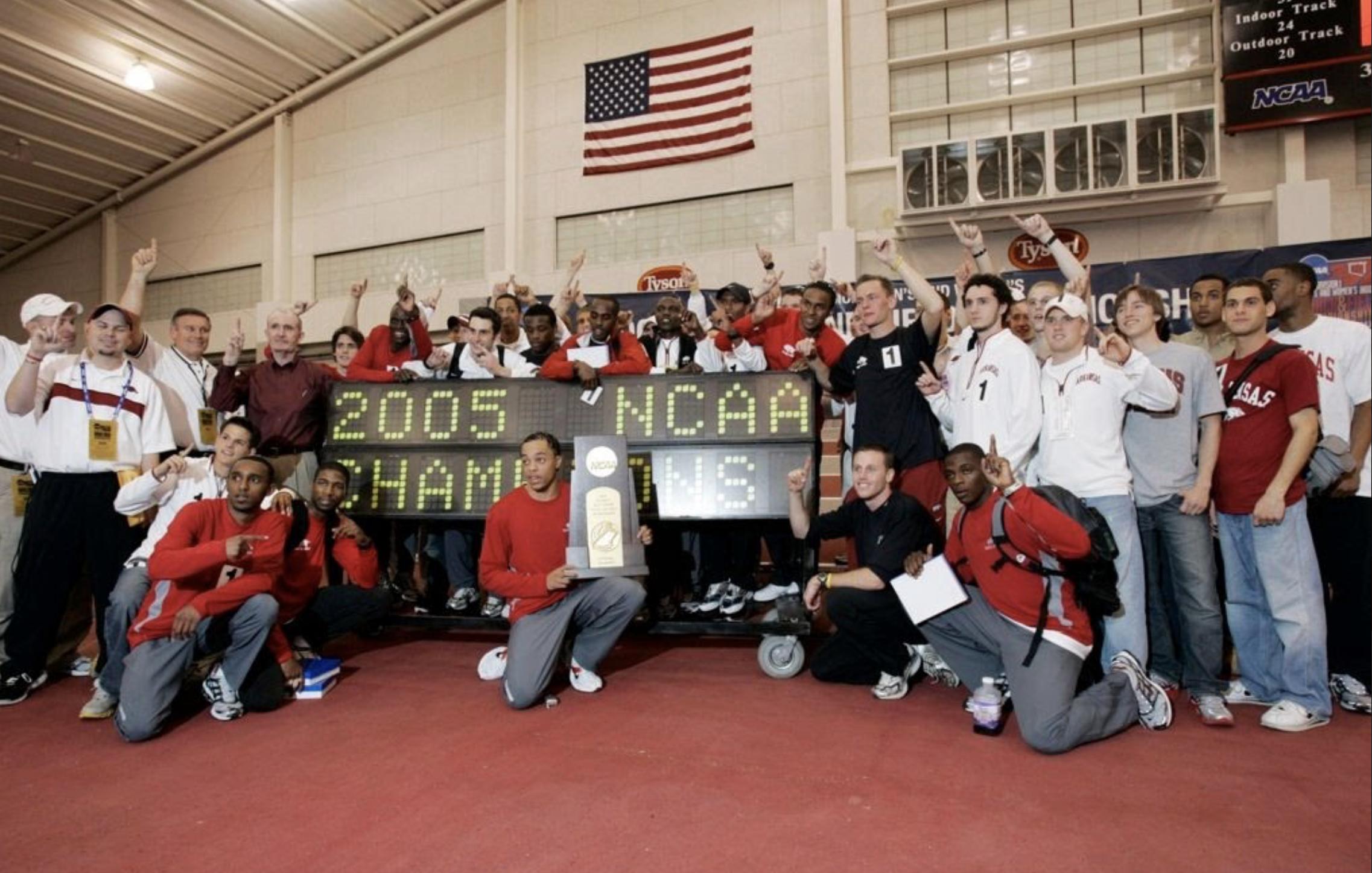 2005 NCAA Indoor Champions