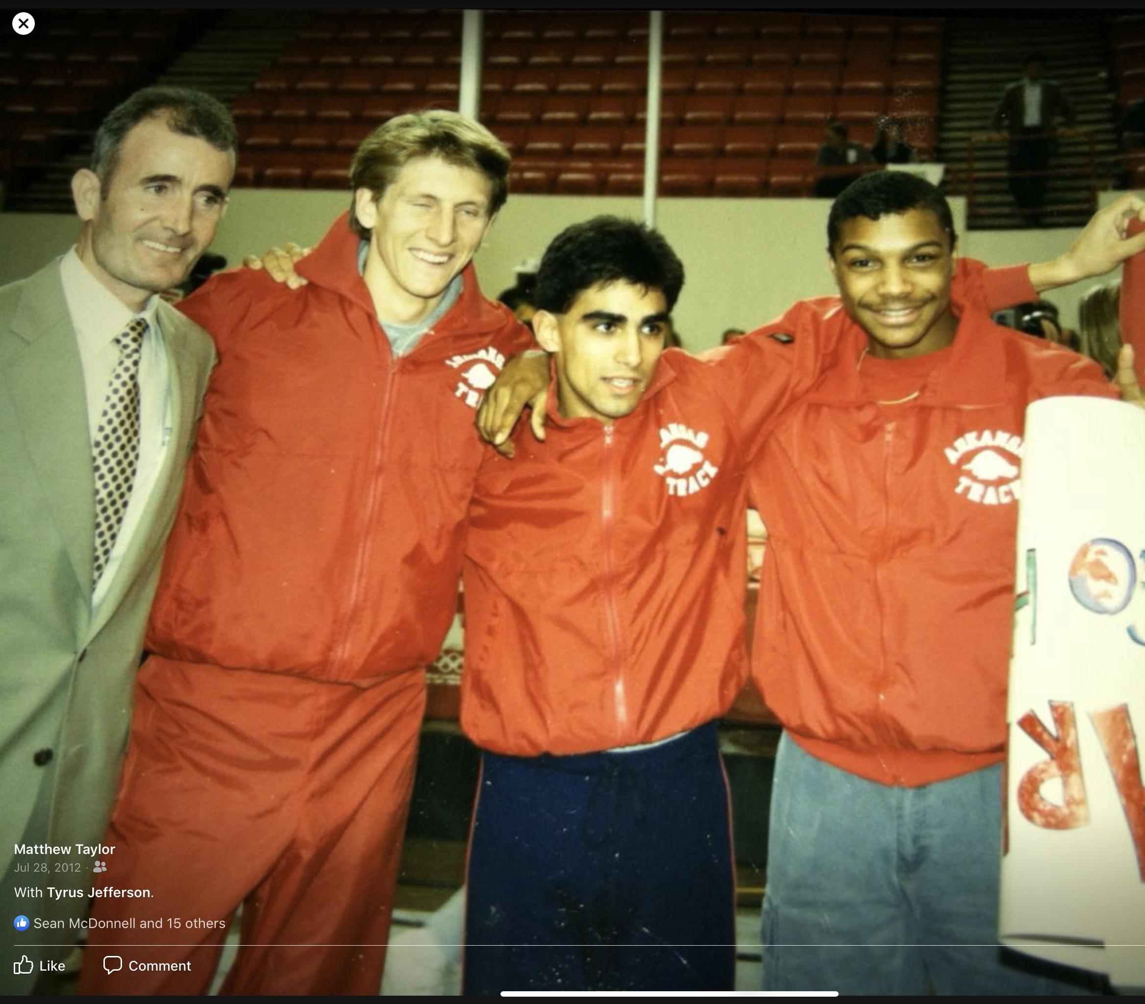 1988 NCAA Indoor Champions